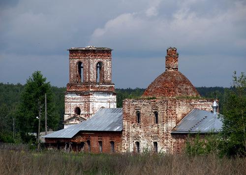Современный вид Никольского храма