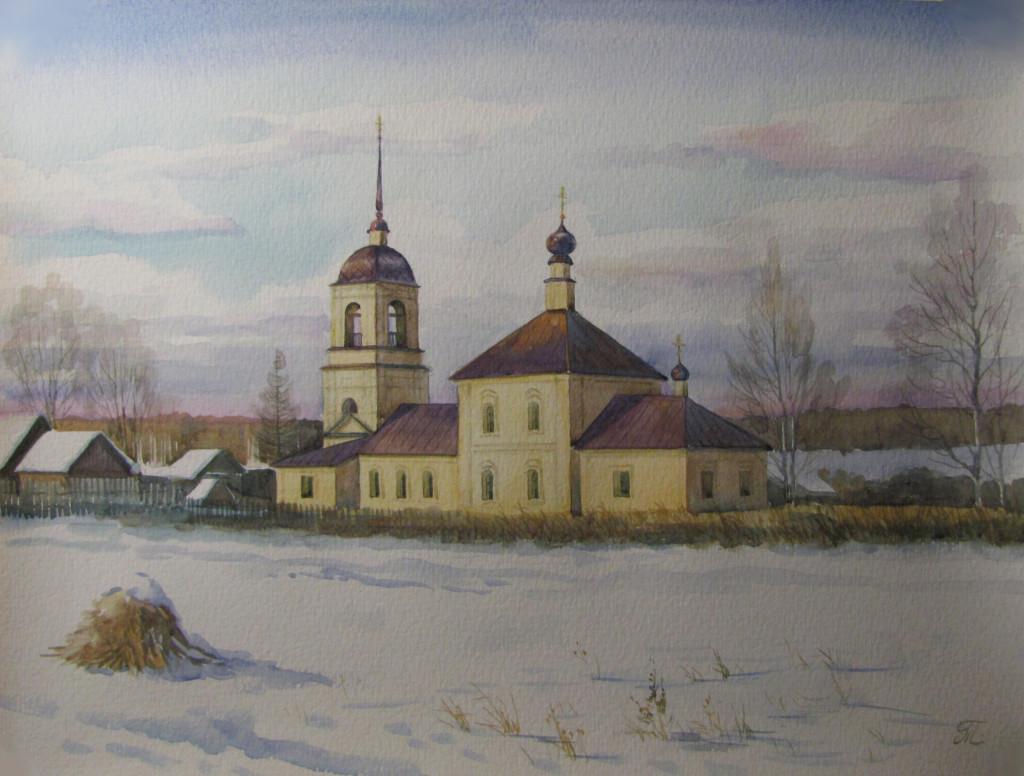 Никольский храм в Троицко-Никольском селе