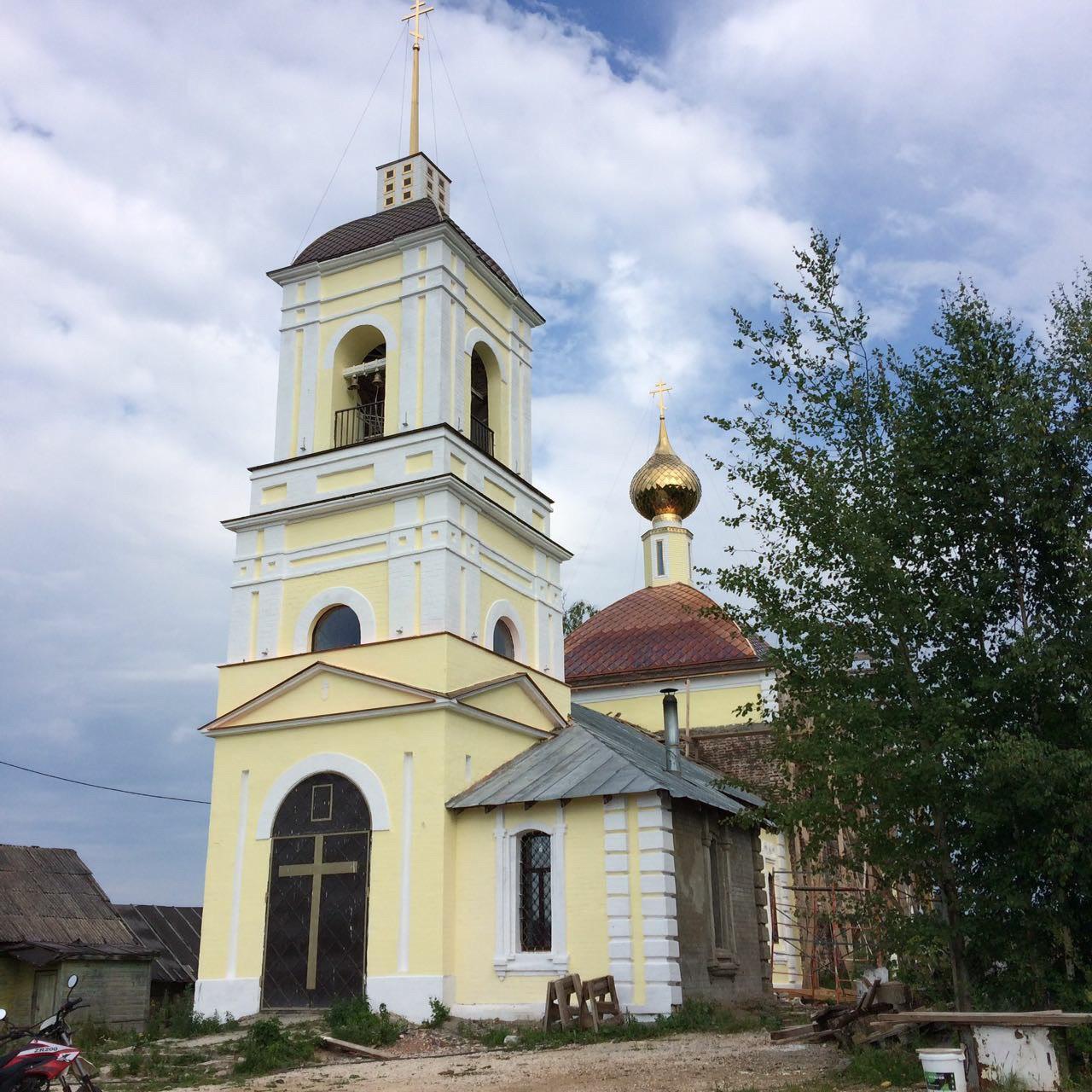 троицко-никольский храм ковровский район